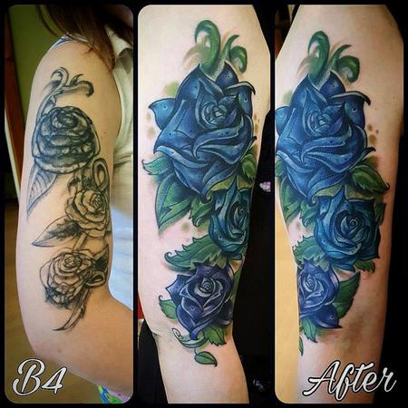 Stand Alone - Flower Coverup