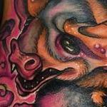 Free Tailed Bat Tattoo Design Thumbnail