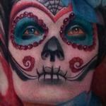 Day of dead tattoo Tattoo Design Thumbnail