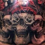 Day of Dead skulls Tattoo Design Thumbnail