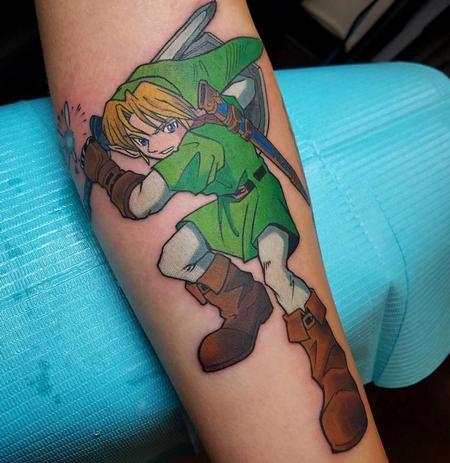 tattoos/ - Link Legend of Zelda  - 131507