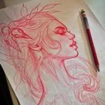 Art Galleries - Tattoo sketch - 117379