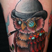 Dapper Owl Tattoo Tattoo Design Thumbnail