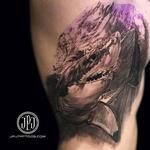 Shark in Progress Tattoo Design Thumbnail