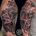 Venetian Mask Tattoo Design Thumbnail