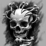 tattoos/ - Skull and Bones