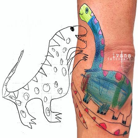 tattoos/ - Dinosaur  - 122967
