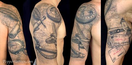 tattoos/ - Travel Themed Tattoo - 109070
