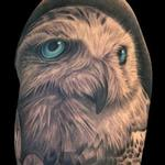 Snowy Owl Tattoo Tattoo Design Thumbnail