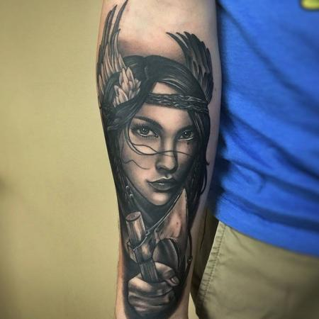 tattoos/ - Viking Woman - 129290