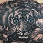 tattoos/ - Tiger and Lillies  - 129289