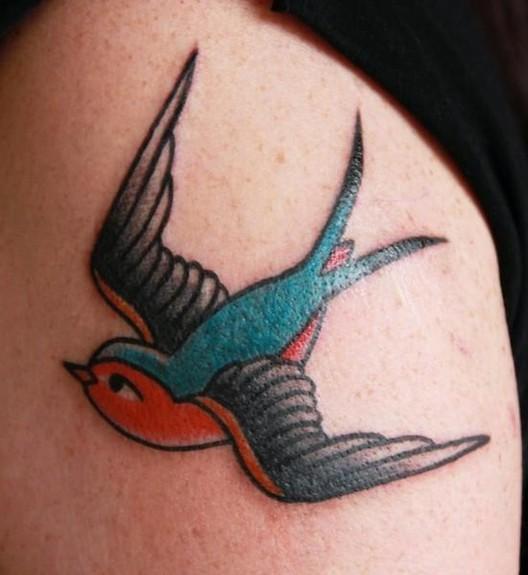 tattoos/ - Swallow Tattoo - 51783