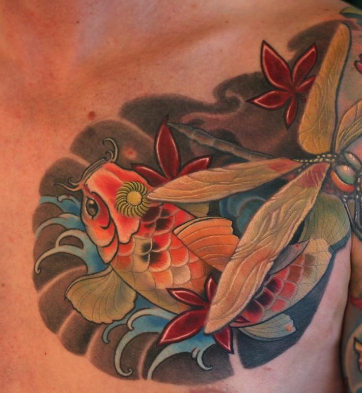 Koi Fish Tattoo Tattoo Design