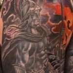 Custom Ares God of War Tattoo Tattoo Design Thumbnail