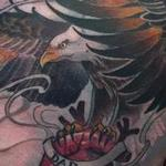 tattoos/ - Custom Eagle Heart Tattoo - 115754