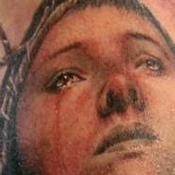 The Passion of Joan of Arc Tattoo Design Thumbnail
