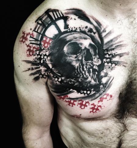 tattoos/ - skull - 100666