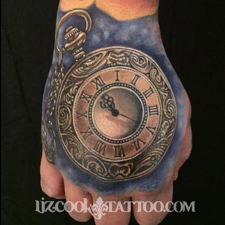 tattoos/ - Time Piece on the Hand - 99401