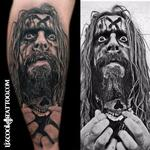Rob Zombie Tattoo Design Thumbnail