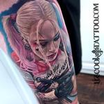 Margot Robbie Harley Quinn Tattoo Design Thumbnail