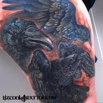 Ravens Tattoo Design Thumbnail