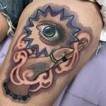Hand Eye Coordination Tattoo Design Thumbnail