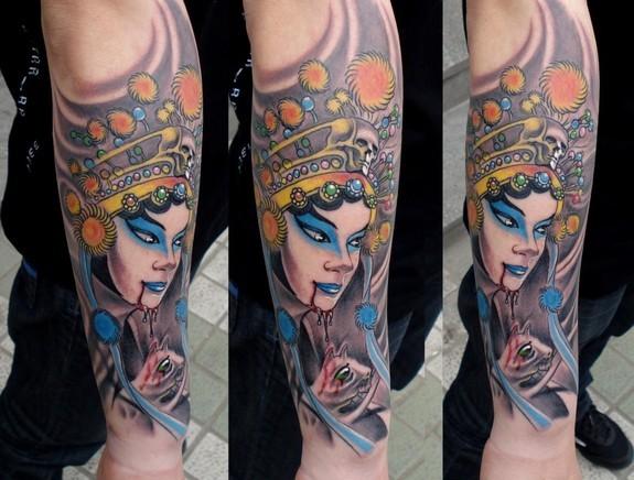 tattoos/ - Asian Rat Lady - 49573