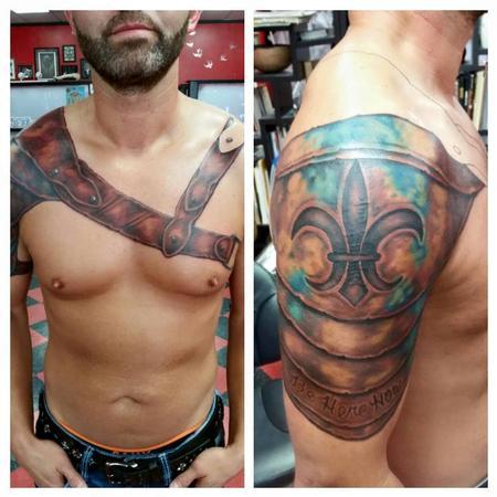 Fantasy - Armor Tattoo