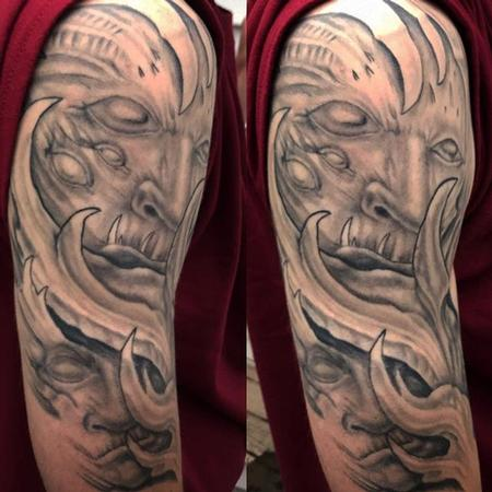 tattoos/ - Biomech Demon Sleeve - 132021