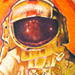 Astronaut tattoo from Brand New Cover art Tattoo Design Thumbnail