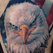 Bald Eagle and American Flag Tattoo Tattoo Design Thumbnail
