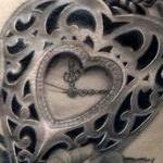 Pocketwatch and roses Tattoo Design Thumbnail