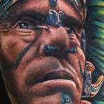 Mayan Warrior Tattoo Tattoo Design Thumbnail