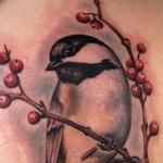 Chickadee Tattoo Design Thumbnail
