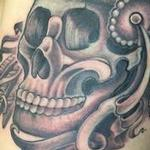 indian skull  Tattoo Design Thumbnail