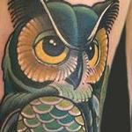 owl Tattoo Design Thumbnail