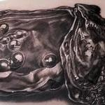 tattoos/ - REALISTIC OYSTER AND PEARLS TATTOO - 114045