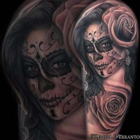 tattoos/ - DAY OF THE DEAD PORTRAIT TATTOO  - 132632