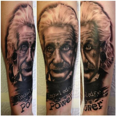 tattoos/ - Albert Einstein Tattoo - 75568