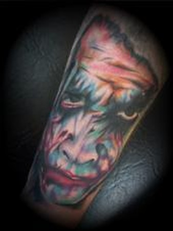 tattoos/ - Zombie Face Tattoo - 49347
