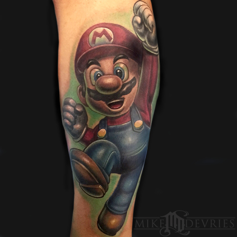 tattoos/ - Super Mario Tattoo - 107982