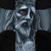 Jesus on Cross Original Art Design Thumbnail