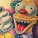 Tattoo-Books - Krusty the Clown - 50111