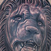 Fantasy - Lion Statue Tattoo