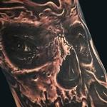 Tattoo-Books - Skull on Leg - 119581