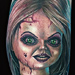 Tattoo-Books - Bride of Chucky Tattoo - 97934