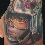 Tattoo-Books - Luke Skywalker Hand Tattoo - 120106