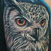Eurasian Eagle-Owl  Tattoo Thumbnail
