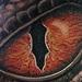 Custom Reptile Eye Tattoo Thumbnail