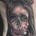 Skull Girl Morph Tattoo Thumbnail